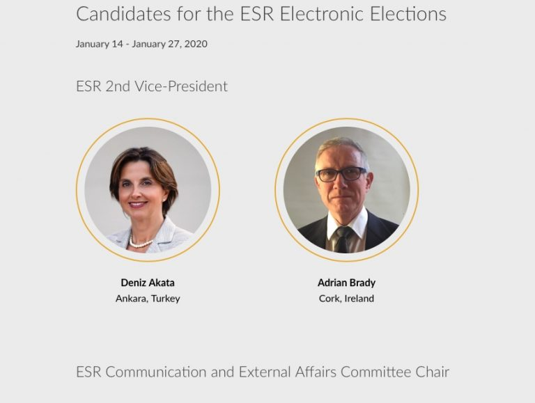 Выборы в руководящие органы ESR. Ваше участие в них очень важно!