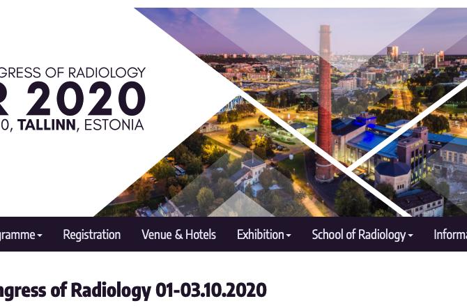 Балтийский Конгресс Радиологии 1-3 октября 2020г