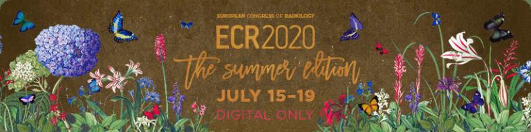 Летний конгресс ECR2020 переведен в онлайн !