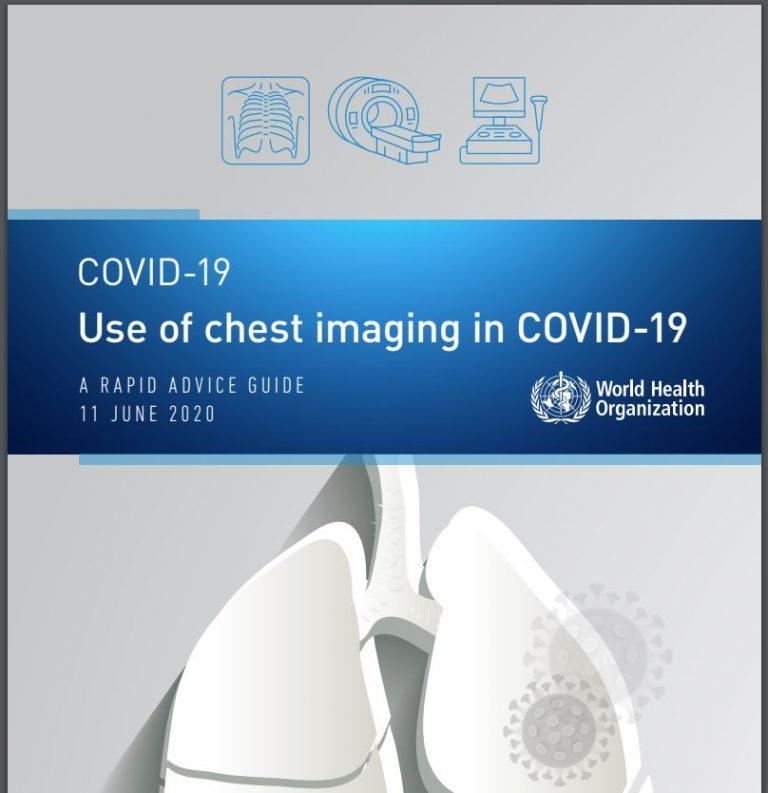 Вышло методическое руководство ВОЗ по лучевой диагностике COVID-19