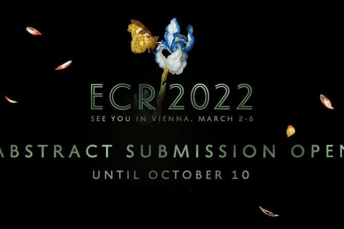Подача тезисов на ECR2022 – до 10 октября 2021г